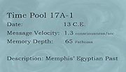 This label corresponds to well 1 in Gallery B, which is part of &quot;Time Pools: Accessing the Aquifer&quot;.<br />
