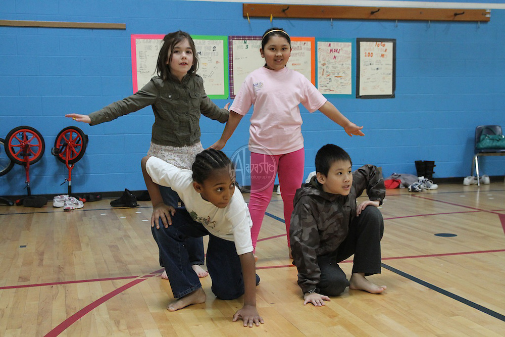 PNB Discover Dance at Graham Hill Elementary.