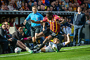 Clayton Donaldson of Bradford City during the EFL Sky Bet League 2 match between Bradford City and Northampton Town at the Utilita Energy Stadium, Bradford, England on 7 September 2019.
