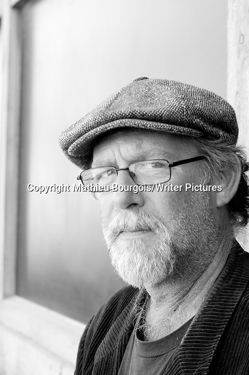 Eric Miles Williamson, an American novelist and literary critic, photographed at the Etonnants Voyageurs (Astonishing Travellers) literary festival in Saint Malo, France. Taken 20th May 2012<br /> <br /> Picture by Mathieu Bourgois/Writer Pictures<br /> <br /> NO FRANCE