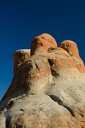 Three Wise Men of Devils Garden, Arches National Park, Utah, US