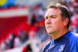 Tranmere Rovers manager Micky Mellon - Mandatory by-line: Ryan Crockett/JMP - 31/08/2019 - FOOTBALL - Aesseal New York Stadium - Rotherham, England - Rotherham United v Tranmere Rovers - Sky Bet League One