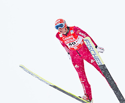 17.12.2011, Casino Arena, Seefeld, AUT, FIS Nordische Kombination, Probedurchgang, Ski Springen, im Bild Johannes Rydzek (GER) // Johannes Rydzek of Germany during the trial round ski jumping at FIS Nordic Combined World Cup in Sefeld, Austria on 20111211. EXPA Pictures © 2011, PhotoCredit: EXPA/ P.Rinderer