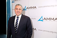 Hon. Joe Hockey MP (Member For North Sydney, Shadow Treasurer). 2013 Australian Mines And Minerals Association Conference. Crown Conference Center, Melbourne, Victoria, Australia. 17/05/2013. Photo By Lucas Wroe