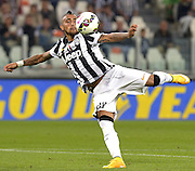 © Filippo Alfero<br /> Juventus-Cesena, Serie A 2014/2015<br /> Torino, 24/09/2014<br /> sport calcio<br /> Nella foto: Arturo Vidal
