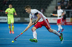 England's Sam Ward. England v China - Hockey World League Semi Final, Lee Valley Hockey and Tennis Centre, London, United Kingdom on 15 June 2017. Photo: Simon Parker