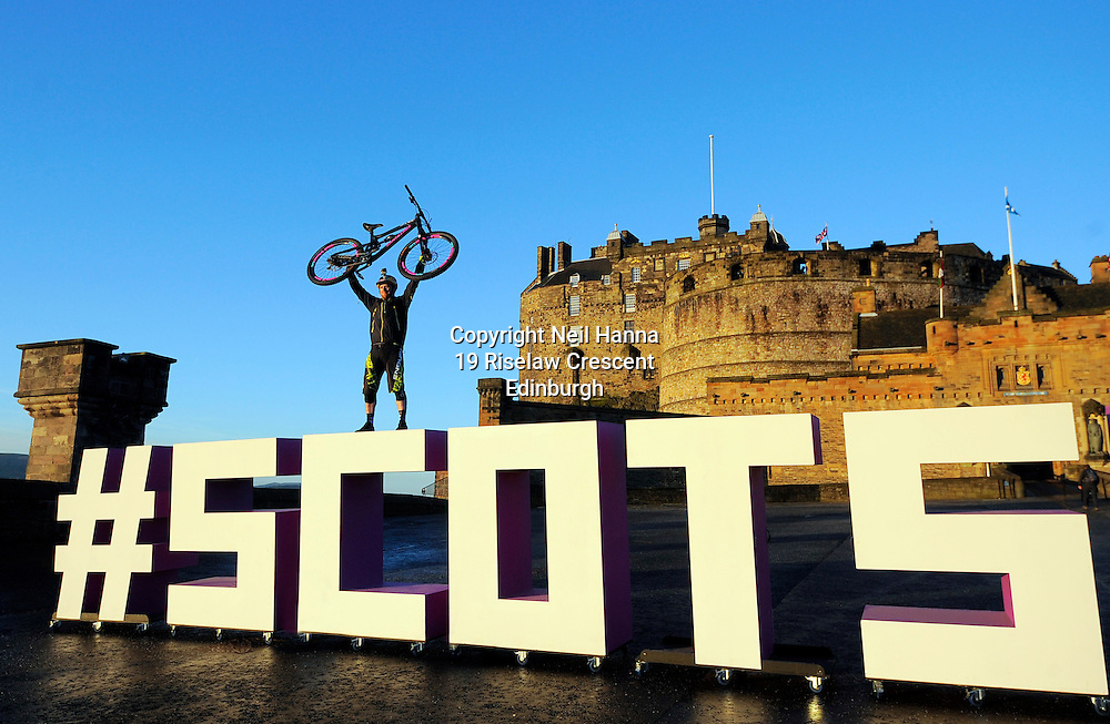 VisitScotland brought the spirit of Scotland to life in its biggest ever global campaign and social movement.  The 'Spirit of Scotland' is being heralded as a 'new era' for the national tourism organisation and a 'destination marketing first' As part of the activity, the #ScotSpirit mission will be launched with social, economic and charitable aims.The campaign launches with the #ScotSpirit activity forming the main focus and VisitScotland's bid to build the #ScotSpirit movement.<br /> <br />  <br /> <br /> <br /> <br /> First Minister Nicola Sturgeon was  joined by stunt bike rider and Skye's very own spirit of Scotland Danny MacAskill alongside members of the community, Tollcross Primary School and well known people of Scotland that embody #ScotSpirit including Scottish athlete, Laura Muir and Social Bite entrepreneur, Josh Littlejohn to celebrate the launch of this new campaign and social movement.<br /> <br /> <br /> <br />  Neil Hanna Photography<br /> www.neilhannaphotography.co.uk<br /> 07702 246823