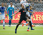 Los Angeles FC midfielder Benny Feilhaber (33) in action during a MLS soccer match against the FC Dallas in Los Angeles, Saturday, May 5, 2018. (Eddie Ruvalcaba/Image of Sport)