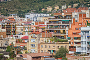 Spain, Barcelona, Grácia. Apartments in the Vallcarca i els Penitents neighborhood.