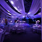 Wedding party set up at Pavillon Gabriel, Paris