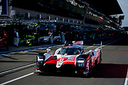 June 16-17, 2018: 24 hours of Le Mans. 8 Toyota Racing, Toyota TS050 Hybrid, Sebastien Buemi, Kazuki Nakajima, Fernando Alonso
