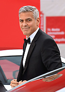 02.09.2017; Venice, Italy: GEORGE CLOONEY<br /> attends the premiere of &ldquo;Suburbicon&rdquo; at the 74th annual Venice International Film Festival.<br /> Mandatory Credit Photo: &copy;NEWSPIX INTERNATIONAL<br /> <br /> IMMEDIATE CONFIRMATION OF USAGE REQUIRED:<br /> Newspix International, 31 Chinnery Hill, Bishop's Stortford, ENGLAND CM23 3PS<br /> Tel:+441279 324672  ; Fax: +441279656877<br /> Mobile:  07775681153<br /> e-mail: info@newspixinternational.co.uk<br /> Usage Implies Acceptance of Our Terms &amp; Conditions<br /> Please refer to usage terms. All Fees Payable To Newspix International