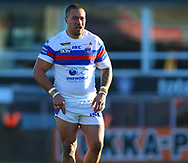 Tinirau Arona of Wakefield Trinity during the Pre-season Friendly match at Belle Vue, Wakefield<br /> Picture by Stephen Gaunt/Focus Images Ltd +447904 833202<br /> 07/01/2018