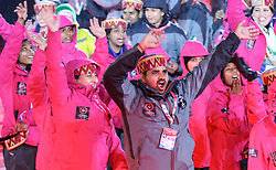 18.03.2017, Planai-Stadion, Schladming, AUT, Special Olympics 2017, Wintergames, Eröffnungsfeier, im Bild der Einmarsch der Delegation aus Indien // the delegation of India during the opening ceremony in the Planai Stadium at the Special Olympics World Winter Games Austria 2017 in Schladming, Austria on 2017/03/17. EXPA Pictures © 2017, PhotoCredit: EXPA / Martin Huber