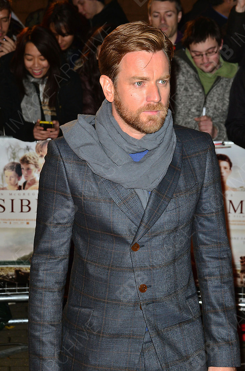 19.NOVEMBER.2012. LONDON<br /> <br /> EWAN McGREGOR ATTENDS THE UK PREMIERE OF THE IMPOSSIBLE AT THE BFI MAX, SOUTHBANK.<br /> <br /> BYLINE: JO ALVAREZ/EDBIMAGEARCHIVE.CO.UK<br /> <br /> *THIS IMAGE IS STRICTLY FOR UK NEWSPAPERS AND MAGAZINES ONLY*<br /> *FOR WORLD WIDE SALES AND WEB USE PLEASE CONTACT EDBIMAGEARCHIVE - 0208 954 5968*