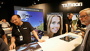 Photokina in Cologne ist the World's biggest bi-annual photo fair. Tamron.