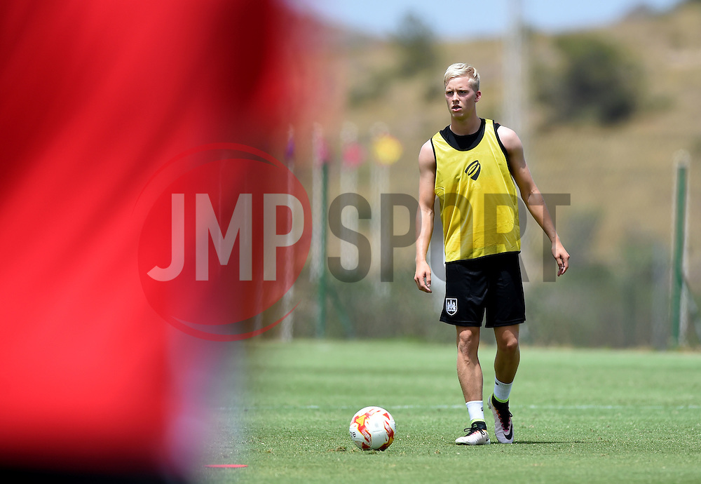 Bristol City new signing Hordur Manusson   - Mandatory by-line: Joe Meredith/JMP - 19/07/2016 - FOOTBALL - Bristol City pre-season training camp, La Manga, Murcia, Spain