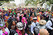 NEW ORLEANS, LA - FEBRUARY 06:  A general view of the atmosphere in Congo Square during the Inaugural Krewe du Kanaval on February 6, 2018 in New Orleans, Louisiana.  (Photo by Erika Goldring/Getty Images)