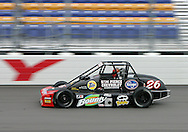 05 MAY 2007: Aaron Pierce (26) of Sam Pierce practices in his Silver Crown car before the Casey's General Stores USAC Triple Crown at the Iowa Speedway in Newton, Iowa on May 5, 2007.