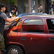 NO DISPARES - AMNISTÍA INTERNACIONAL<br /> Caracas - Venezuela 2009<br /> Photography by Aaron Sosa