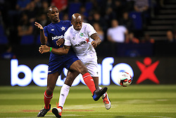 14 July 2017 -  Star Sixes Football - Eric Abidal of France tangles with Luis Boa More of Portugal - Photo: Marc Atkins / Offside.