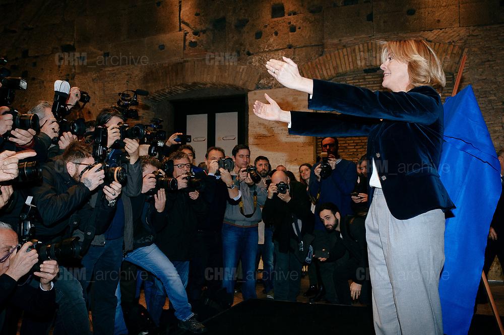 Beatrice Lorenzin. Presentazione di Civica Popolare Lorenzin per le politiche del 4 marzo 2018. Roma 9 Gennaio 2018. Christian Mantuano / OneShot