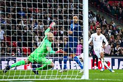 Trent Alexander-Arnold of England scores a goal to make it 2-0 - Mandatory by-line: Robbie Stephenson/JMP - 15/11/2018 - FOOTBALL - Wembley Stadium - London, England - England v United States of America - International Friendly