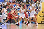 DESCRIZIONE : Berlino Berlin Eurobasket 2015 Group B Spain Serbia <br /> GIOCATORE :  Nikola Kalinic<br /> CATEGORIA :  Controcampo Penetrazione<br /> SQUADRA : Serbia<br /> EVENTO : Eurobasket 2015 Group B <br /> GARA : Spain Serbia <br /> DATA : 05/09/2015 <br /> SPORT : Pallacanestro <br /> AUTORE : Agenzia Ciamillo-Castoria/I.Mancini<br /> Galleria : Eurobasket 2015 <br /> Fotonotizia : Berlino Berlin Eurobasket 2015 Group B Spain Serbia