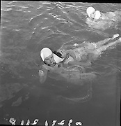Red Cross Safety Competition Water Rescue, Blackrock Beach, Dublin..26.08.1961