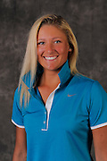 Brogan McKinnon during portrait session prior to the second stage of LPGA Qualifying School at the Plantation Golf and Country Club on Oct. 6, 2013 in Vience, Florida. <br /> <br /> <br /> ©2013 Scott A. Miller