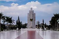 Indonesia, Sumatra. Medan. Taman Makam Pahlawan Bukit Barisan Medan, Hero Monument.
