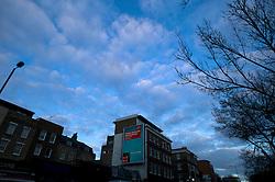 UK ENGLAND LONDON 18NOV11 - Vodafone billboard poster along the Pentonville Road in central London...jre/Photo by Jiri Rezac....© Jiri Rezac 2011