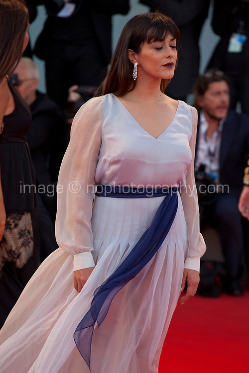 Valentina Lodovini at the premiere of the film The Leisure Seeker (Ella & John) at the 74th Venice Film Festival, Sala Grande on Sunday 3 September 2017, Venice Lido, Italy.