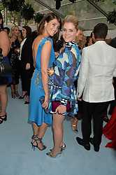 Left to right, GEMMA ARTERTON and HANNAH ARTERTON at the Glamour Magazine Women of the Year Awards in association with Next held in the Berkeley Square Gardens, London on 7th June 2016.