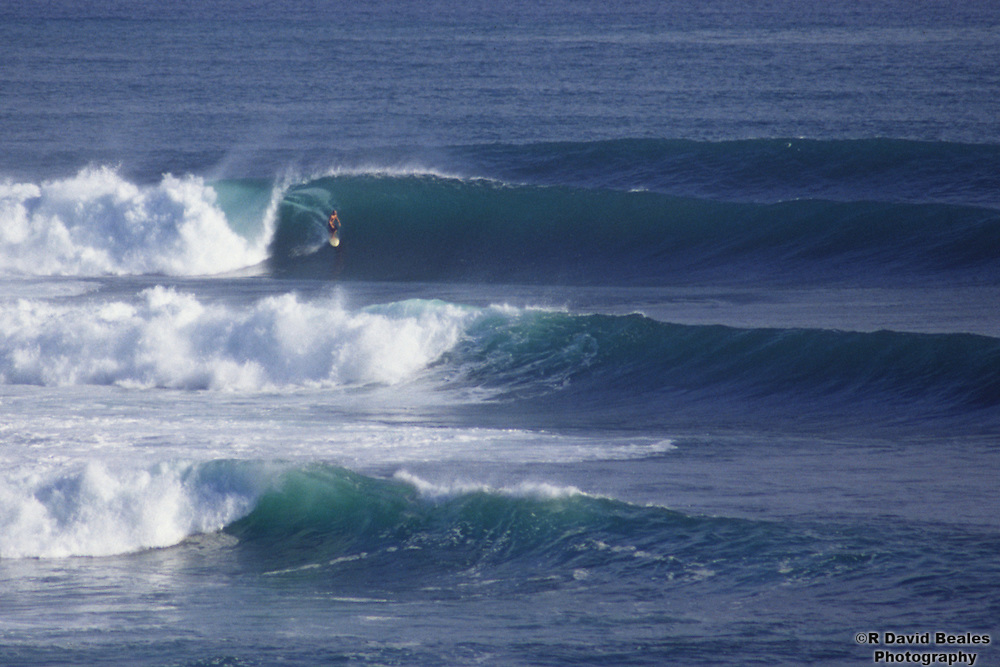 Surfing the Outer Reef, Popoyo, Nicaragua