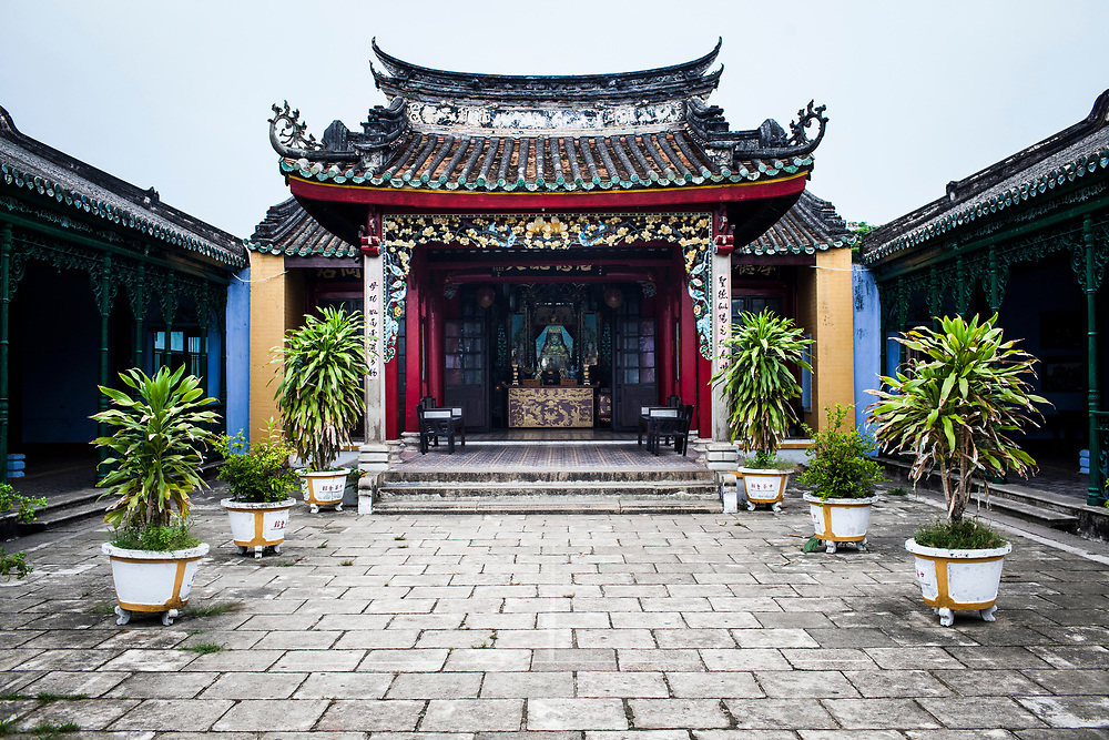 A temple in the Old Town of Hoi An, Vietnam.