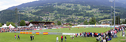 28.05.2012, Sportplatz Golm FC Schruns, Schruns, AUT, UEFA EURO 2012, Trainingslager, Spanien, im Bild Sportplatz des FC Schruns mit den Fans during of Spanish National Footballteam for preparation UEFA EURO 2012 at Sportplatz Golm FC Schruns, Schruns, Austria on 2012/05/28. EXPA Pictures © 2012, PhotoCredit: EXPA/ Peter Rinderer