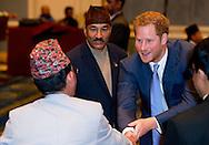 19-3-2016 KATHMANDU - Prince Harry attends  the Government of Nepal Reception at the Yak & Yeti Hotel, Kathmandu. Prince Harry  . Prince Harry during a 5 day visit to Nepal COPYRIGHT ROBIN UTRECHT prins harry engeland tijdens een bezoek aan nepal
