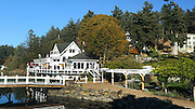 Roche Harbor, San Juan Island, San Juan Islands, Puget Sound, Washington, State, USA