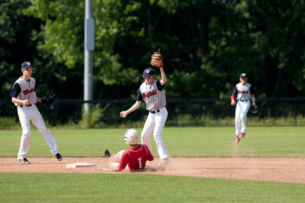 Westfield v Arlington, Babe Ruth Regional Tournament. (Photo by Robert Falcetti)