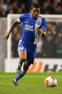 Matheus Nascimento of Dnipro Dnipropetrovsk during the UEFA Europa League match at White Hart Lane, London<br /> Picture by David Horn/Focus Images Ltd +44 7545 970036<br /> 27/02/2014