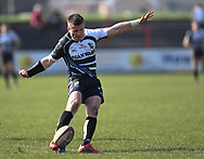 Pontypridd Ceri Sweeney<br /> Photographer Mike Jones/Replay Images<br /> <br /> Aberavon RFC v Pontypridd RFC <br /> Principality Premiership<br /> Saturday 14th April 2018<br /> Talbot Athletic Ground<br /> <br /> World Copyright © Replay Images . All rights reserved. info@replayimages.co.uk - http://replayimages.co.uk