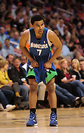 Mar. 16 2010; Phoenix, AZ, USA; Minnesota Timberwolves guard Ramon Sessions (7) during the second half at the US Airways Center. The Suns defeat the Timberwolves 152-114. Mandatory Credit: Jennifer Stewart-US PRESSWIRE.