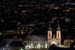 13.12.2010, Graz, AUT, Feature, im Bild die Mariahilfer Kirche bei Nacht, EXPA Pictures © 2010, PhotoCredit: EXPA/ Erwin Scheriau