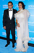 Naeem and Ranjana Khan attend the 7th Annual UNICEF Snowflake Ball at Cipriani 42nd Street in New York City, New York on November 29, 2011.