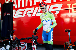 Simon Spilak of Slovenia prior to the Men's Elite Road Race a 258.5km race from Kufstein to Innsbruck 582m at the 91st UCI Road World Championships 2018 / RR / RWC / on September 30, 2018 in Innsbruck, Austria. Photo by Vid Ponikvar / Sportida