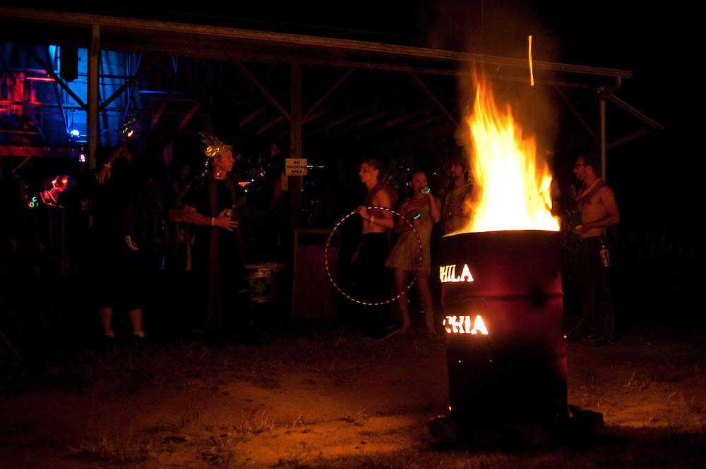 PEX fire barrel
