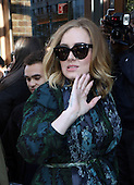 Adele Out In New York City