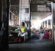 A woman in the central market, Granada, Nicaragua, 2008.