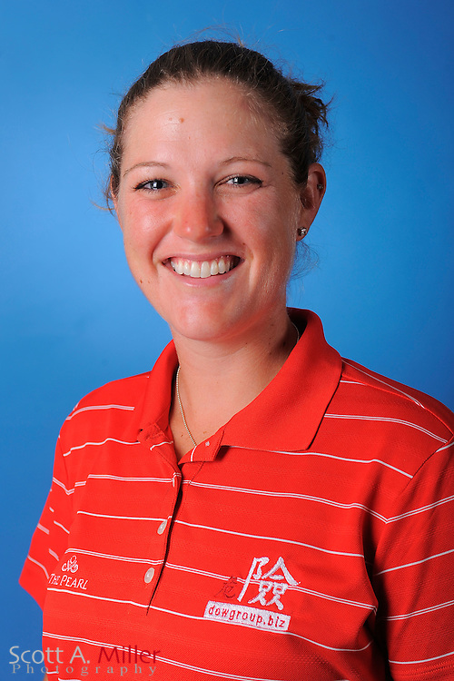 Lauren Hunt during a portrait session prior to the second stage of LPGA Qualifying School at the Plantation Golf and Country Club on Sept. 24, 2011 in Venice, FL...©2011 Scott A. Miller